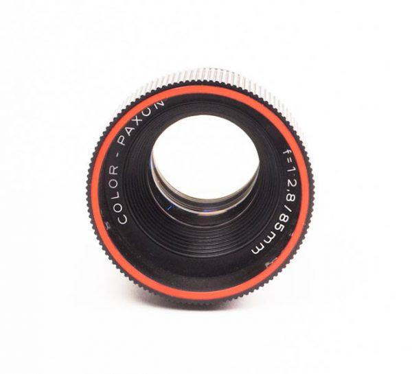 Objectief/lens - Color-Paxon f=1:2,8 / 85mm