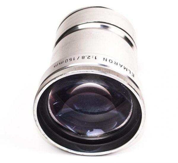 Objectief/lens - Leitz Wetzlar Germany Elmaron 1:2,8 / 150mm