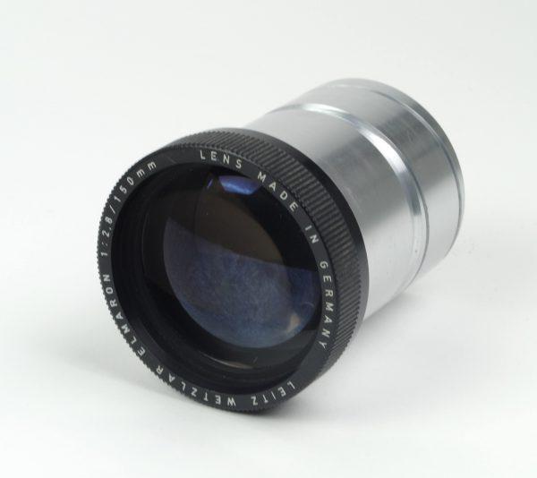 Objectief/lens - Leitz Wetzlar Elmaron 1:2,8 / 150mm (Made in Germany)