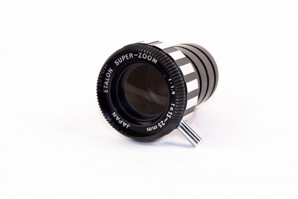 Objectief / lens - Etalon Super-Zoom 1:1,4 / f=15-25mm