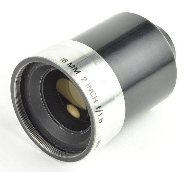 Objectief/lens - 16mm 2 Inch f/1.6