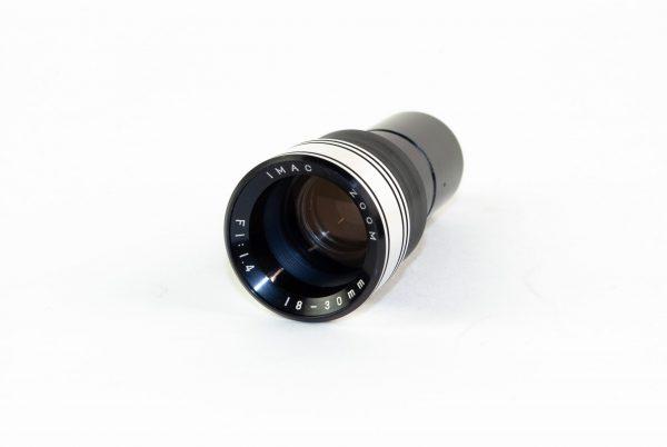Objectief / lens – Imac Zoom 1:1,4 / f=18-30mm