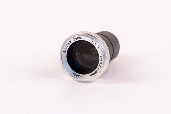 Objectief / lens - Reofine Zoom 1:1,3 / f=16,5~30mm Japan