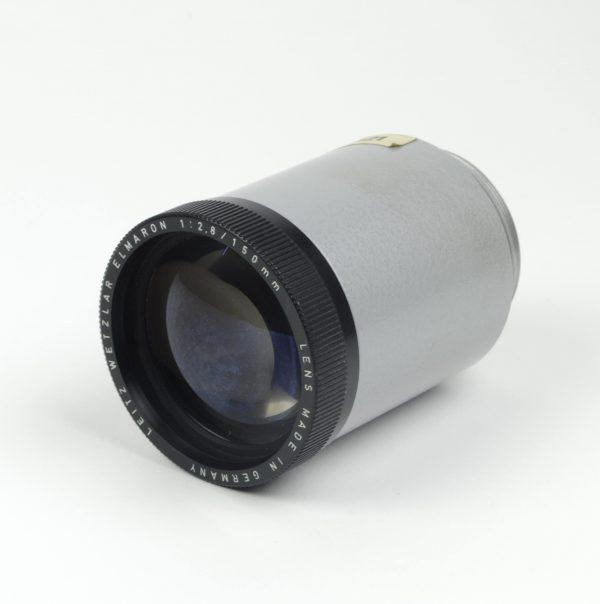 Objectief/lens - Leitz Wetzlar Elmaron 1:2,8 / 150mm, met adaptor (Made in Germany)