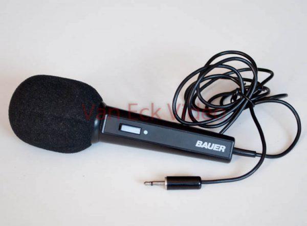 Microfoon - Bauer - smalle stekker