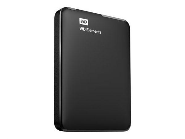 Externe harddisk 1TB - Western Digital WD Elements - USB3 (2.5 inch)