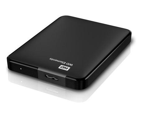 Externe harddisk 2TB - WD Elements Portable 2 TB