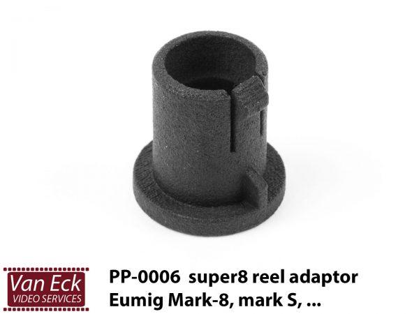 Super8 spoel adapter Eumig Mark S