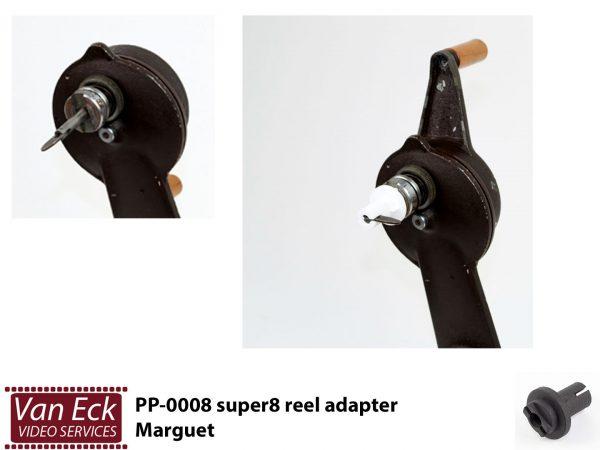 Spoeladapter super8 Marguet - PP-0008