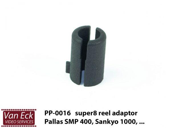 Super8 spoel adapter Pallas SMP 400, Sankyo 1000 (PP-0016)