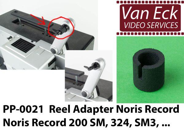 Super8 spoel adapter Noris Record