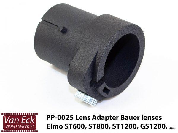 Adapter Bauer lens voor ELMO GP, K100SM, ST600, ST800, ST1200, GS800, GS1200