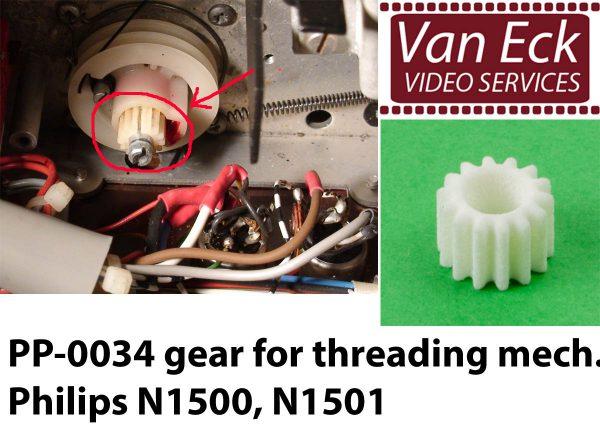 Philips N1500 / N1501 tandwiel voor inrijgmechanisme