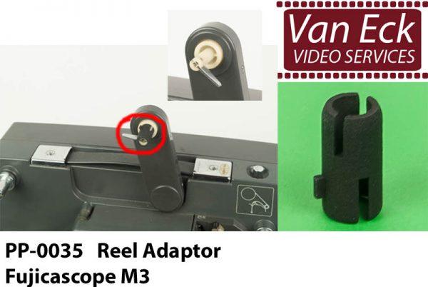 Super8 spoel adapter Fujicascope M3