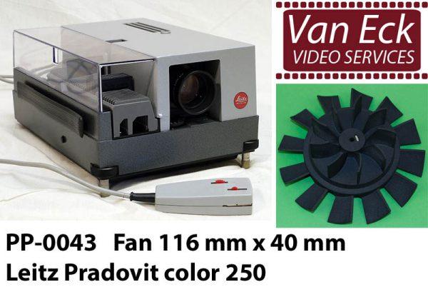Leitz PRADOVIT color - Ventilator 116mm x 40mm