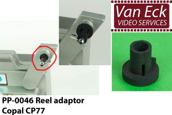 Super8 spoel adapter Copal CP77
