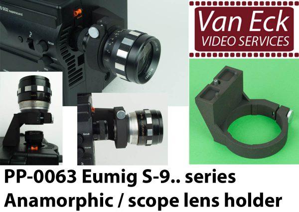 Lens houder Eumig S9xx serie voor Scope / Anamorfotische lenses