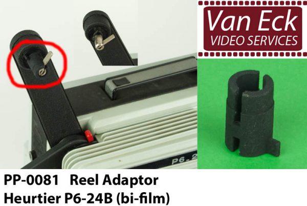 Super8 spoel adapter Heurtier P6-24