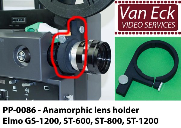 Lens houder Elmo GS-1200, ST-1200, ST-600, ST-800 - voor Scope / Anamorphische lenzen