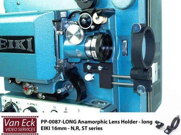 Lens houder Eiki 16mm - long - N, R, ST series voor scope / anamorfotische lenzen
