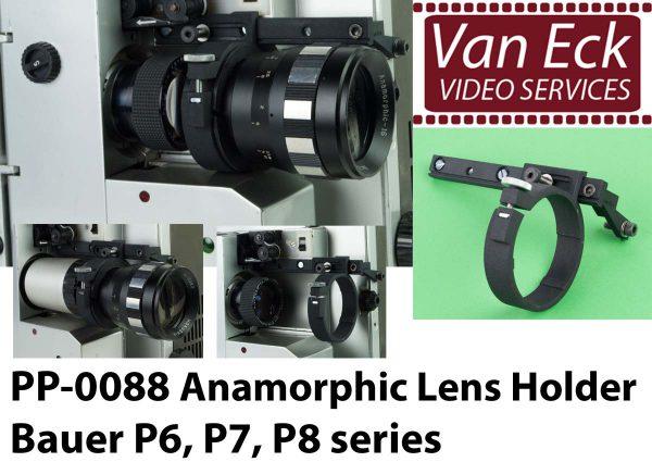 Lens houder Bauer P6-P7-P8 voor scope / anamorfotische lenzen