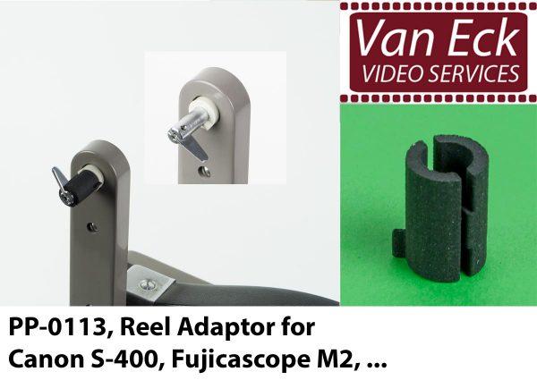 Super8 spoel adapter Canon S400, Fujicascope M2, etc
