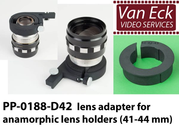 Lens adapter voor anamorfische lens houders (41-44mm)