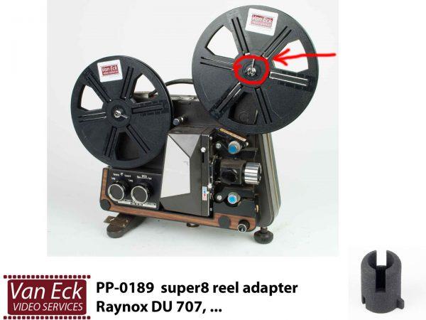 Super8 spoel adapter Raynox DU 707A etc.