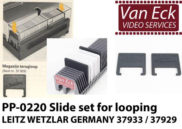 Leitz Wetzlar 39733 - magazijn terugloop (set van 2)