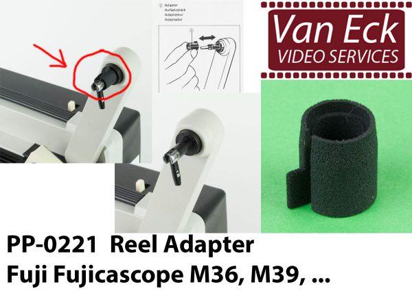 Super8 spoel adapter Fujicascope M36, M39
