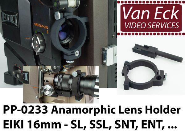 Lens houder Eiki 16mm - SL, SSL, SNT, ENT voor scope / anamorfotische lenzen