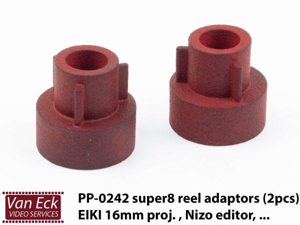Setje van 2 super8 adapter voor 16mm - TYPE 2 (EIKI, etc)