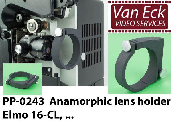 Lens houder Elmo 16-CL, ... - voor Scope / Anamorphische lenzen
