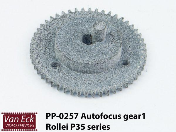 Rollei P35 series - autofocus tandwiel 1