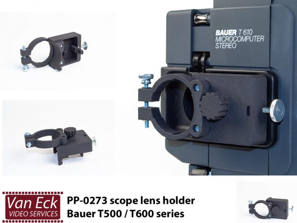 Bauer T500 T600 serie - lenshouder - voor scope / anamorphische lenzen
