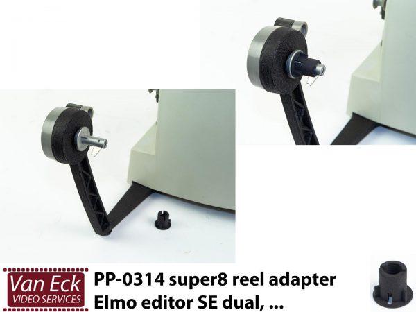 Super8 spoel adapter Elmo editor SE dual, ... (PP-0314)