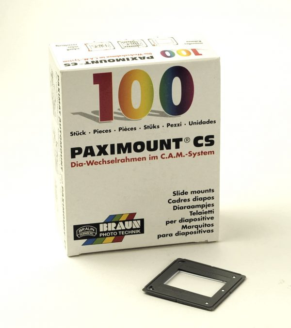 Braun Paximount CS Diaramen 100 stuks