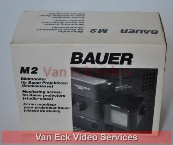 Bauer M2 Monitor-beeldscherm