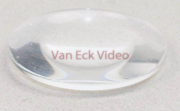 Dia projector condensor lens - rond - bol/bol - 55mm x 13mm