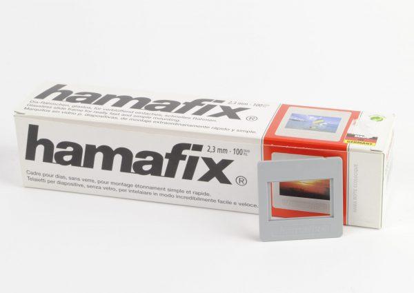 Hamafix plasic dia ramen (glasloos) 24 x 36, 2,3mm, 100 stuks - 1 beschikbaar