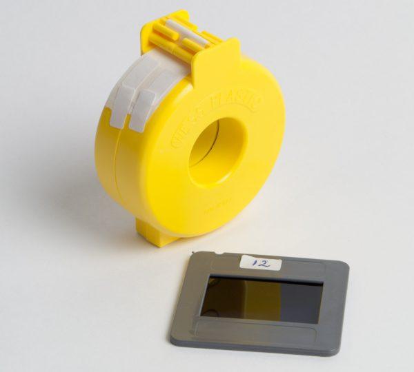 Wess tabs - warmte bestendige vastzettape (dispenser 1000 stuks) (QM9010)