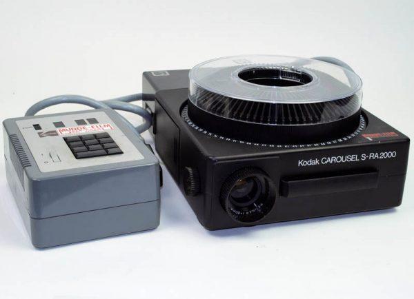 Kodak carousel S-RA2000 met keyboard control