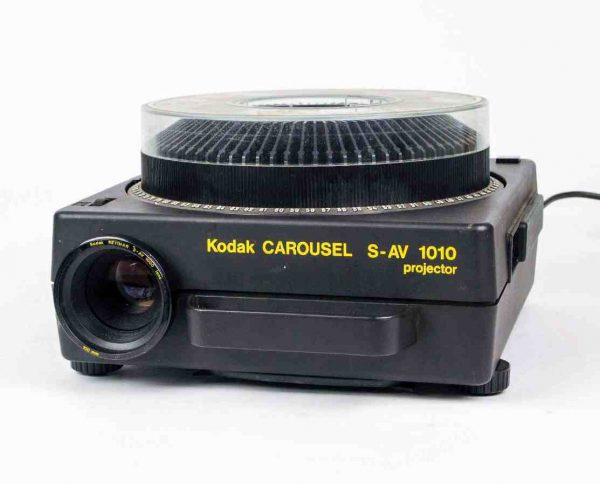 Kodak Carousel S-AV 1010 (dia projector)