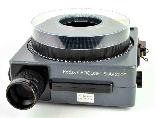 Kodak Carousel S-AV 2000 (dia projector)