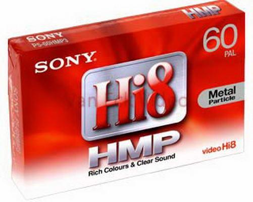 Sony hi8 tape - 60 minuten - P560HMP