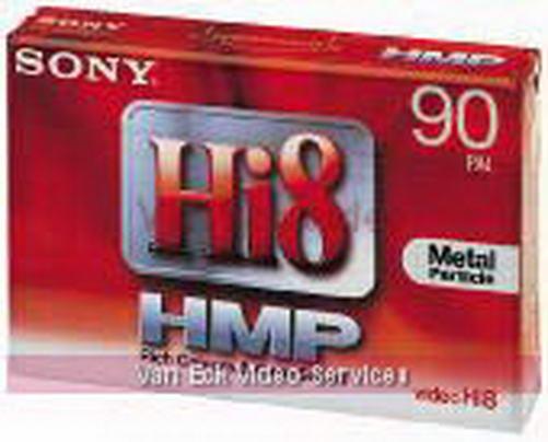 Sony hi8 tape - 90 minuten - P590HMP