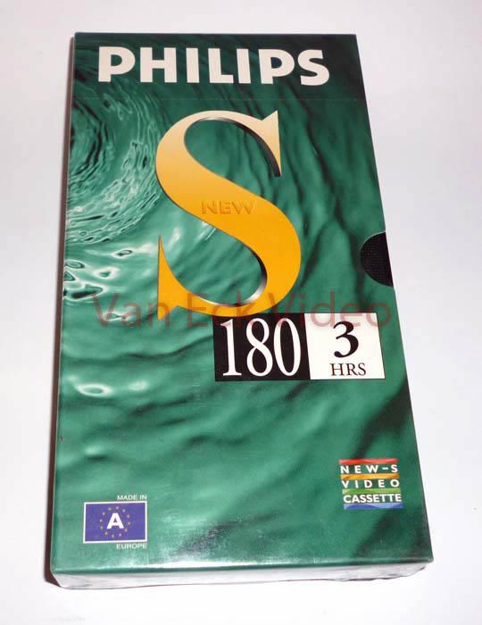 Phlips VHS S 180 minuten