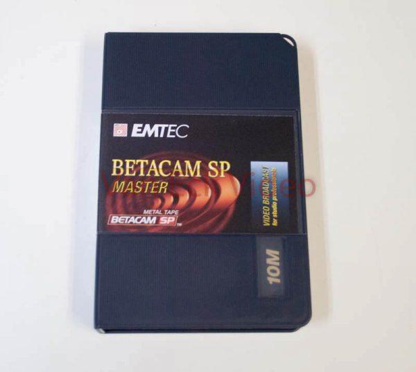 EMTEC Betacam SP MASTER - Metal Tape 10M (10 minutes)