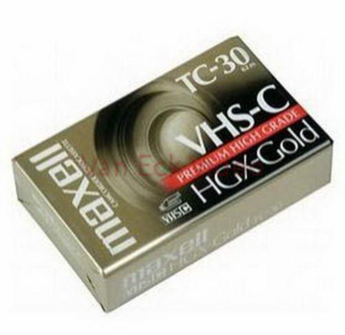 Maxell VHS-C TC-30