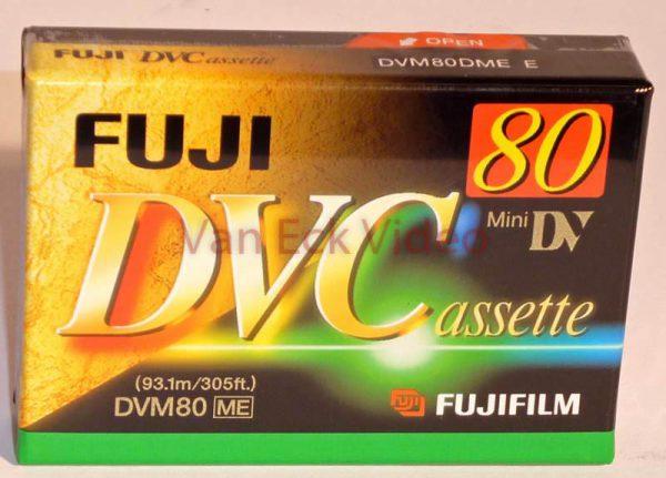 Fuji MiniDV 80 min - DVC DVM80ME